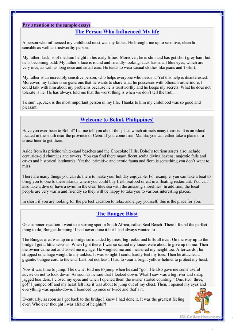descriptive writing worksheet esl printable worksheets made  descriptive writing full screen