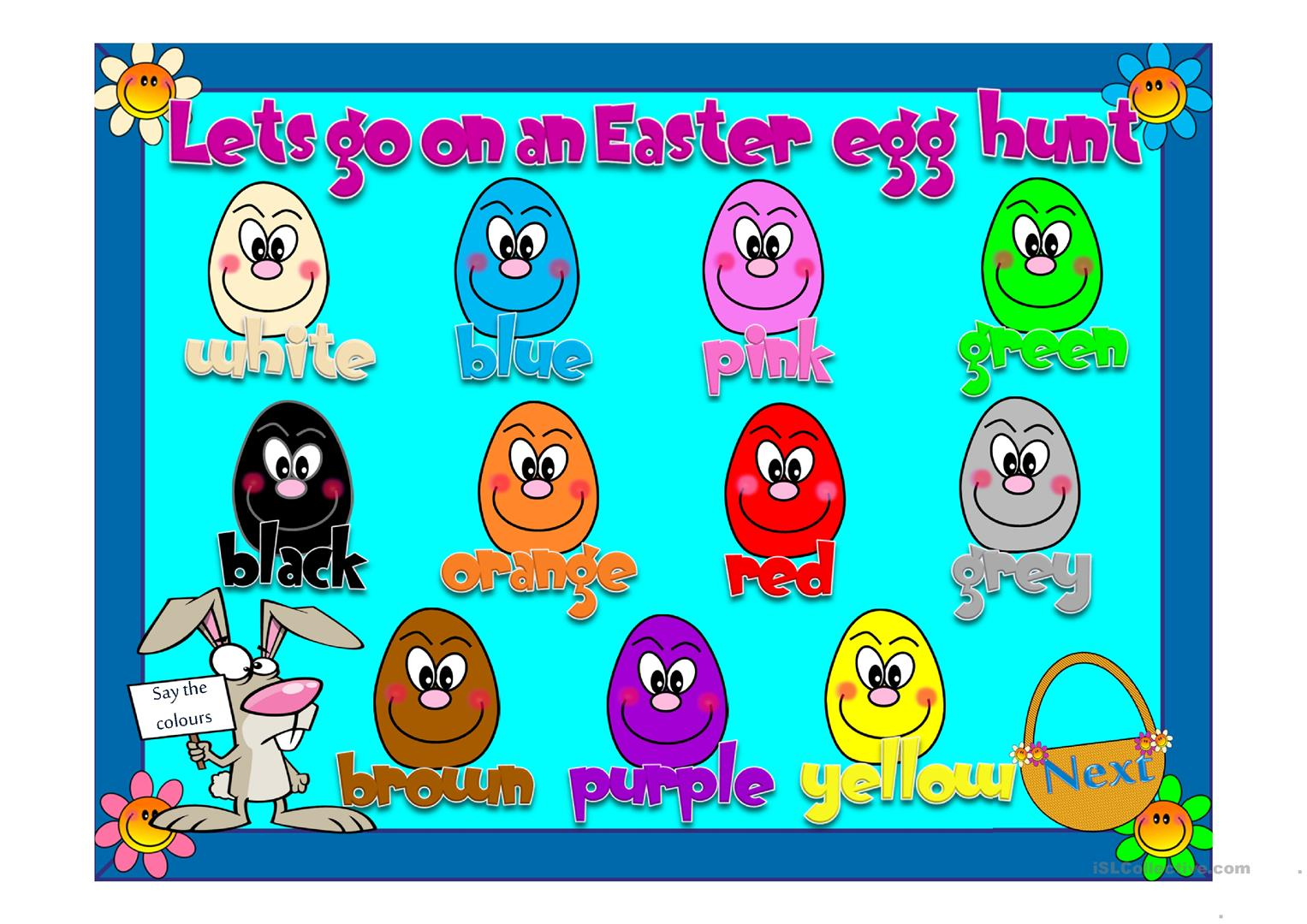 34 FREE ESL Easter Powerpoint presentations, exercises