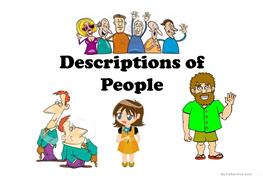 a description of how different people play different characters Learn to write characters very different from you sensitively and convincingly resources for writers who want to include characters who are a different race, ethnicity, or you'll find everything from description and language to stereotypes and tropes to specific information about different races and.