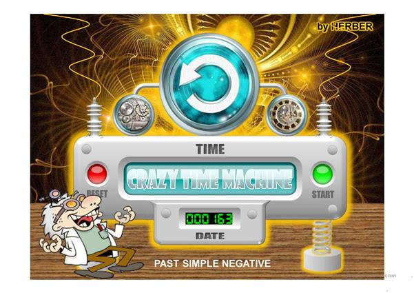 CRAZY TIME MACHINE PPT