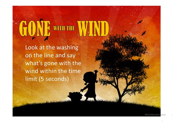 GONE WITH THE WIND PPT