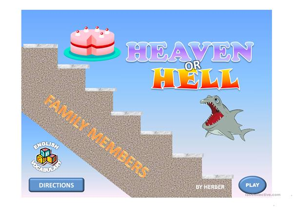HEAVEN OR HELL PPT