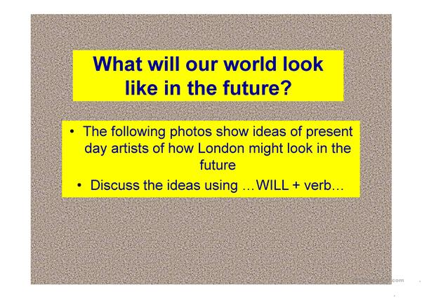 Postcards from future London