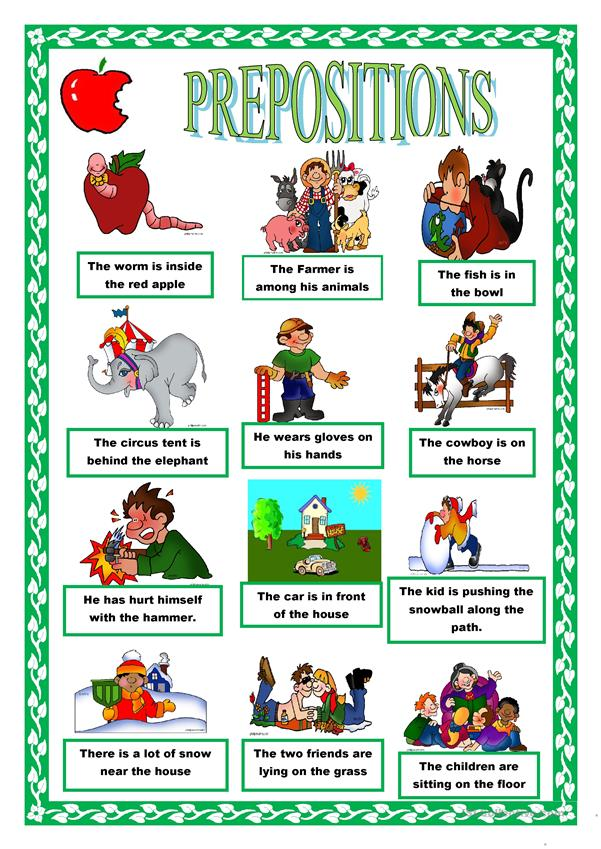 PREPOSITIONS -2 pages