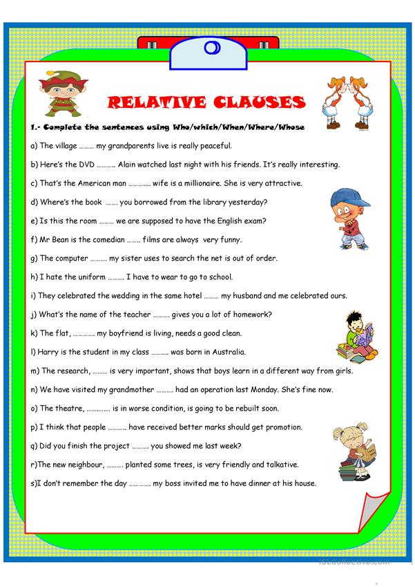 RELATIVE CLASES -2 pages