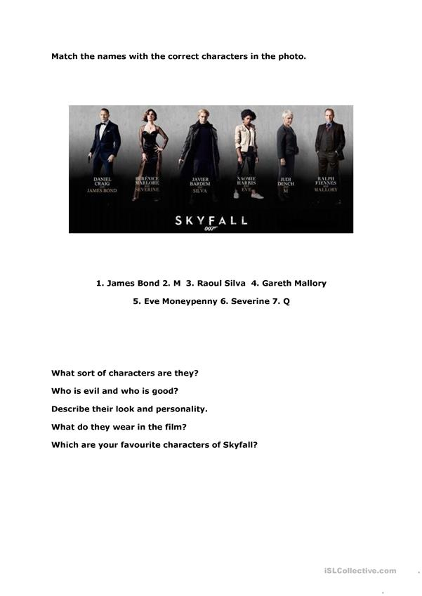 Skyfall (3 pages)