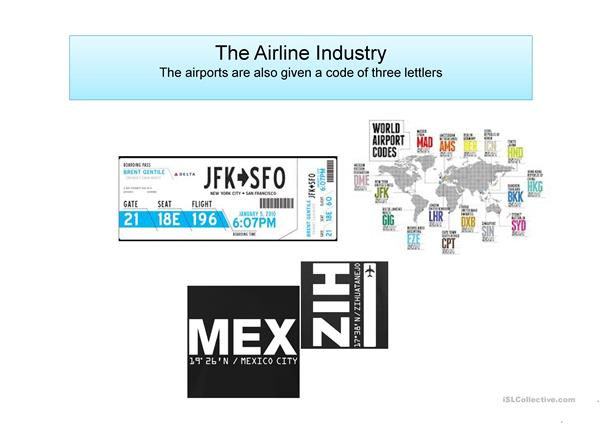 the airline industry