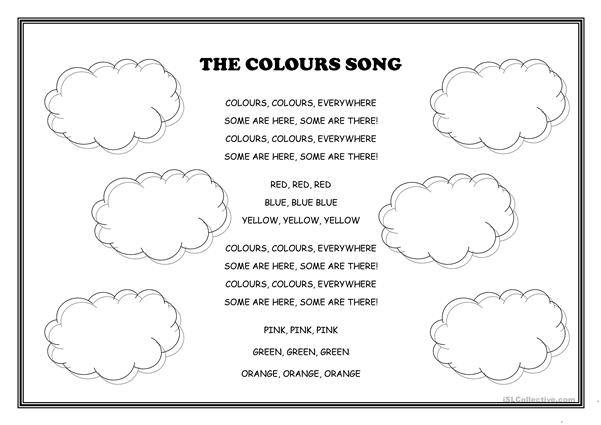 The colours song