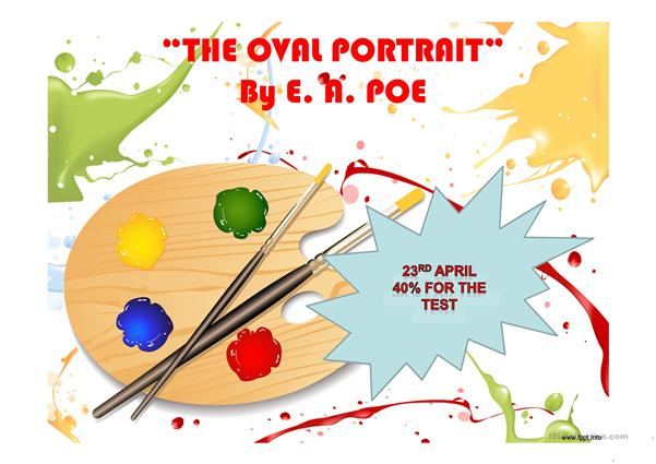 The oval portrait by E.A. Poe