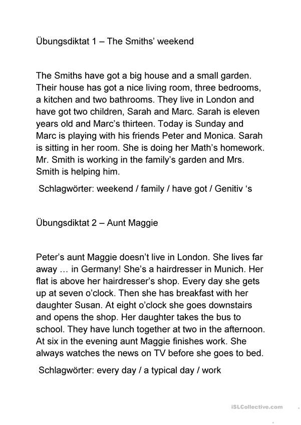 The Smiths' weekend /   Aunt Maggie