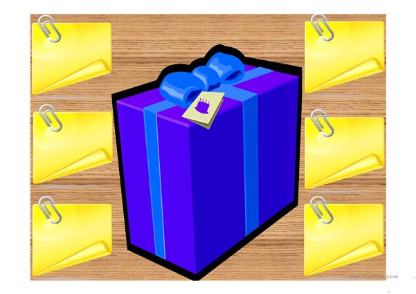 What's in the box? ppt game