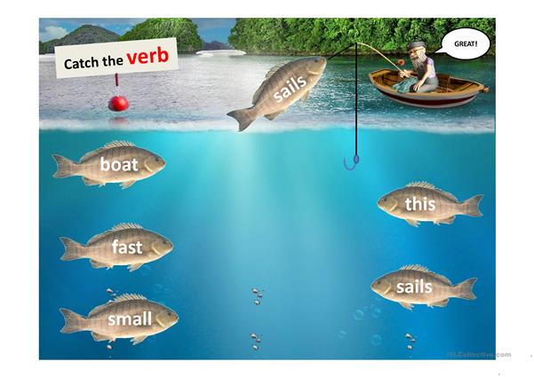 WORDS FISHING PPT