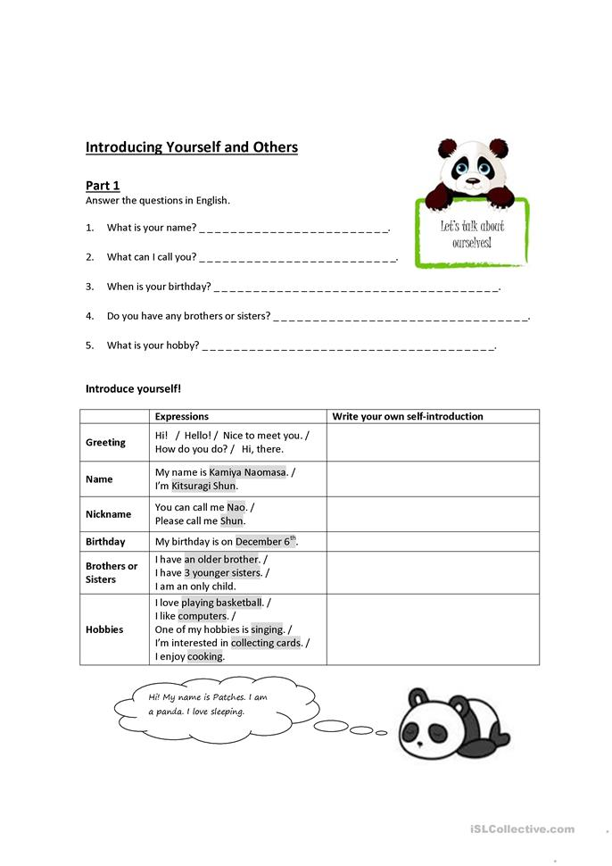 Printables Ice Breaker Worksheets 42 free esl icebreaker worksheets introducing yourself and others