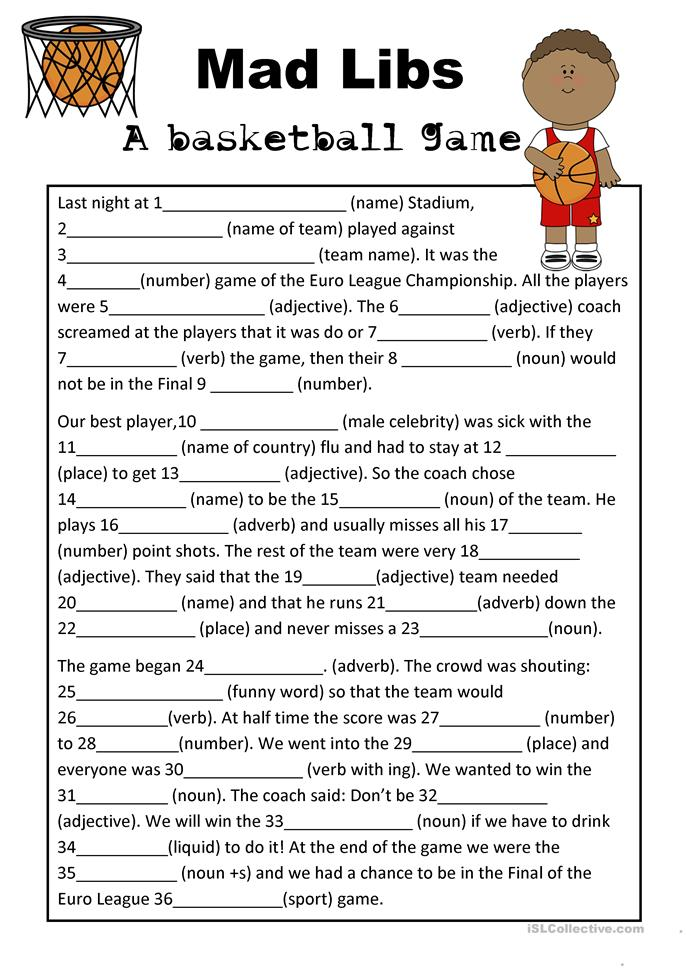 Free Christmas Mad Libs For Adults