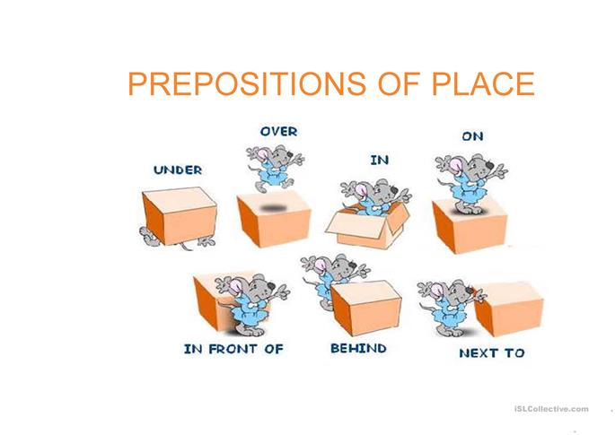 prepositions of place and movement worksheet - Free ESL ...