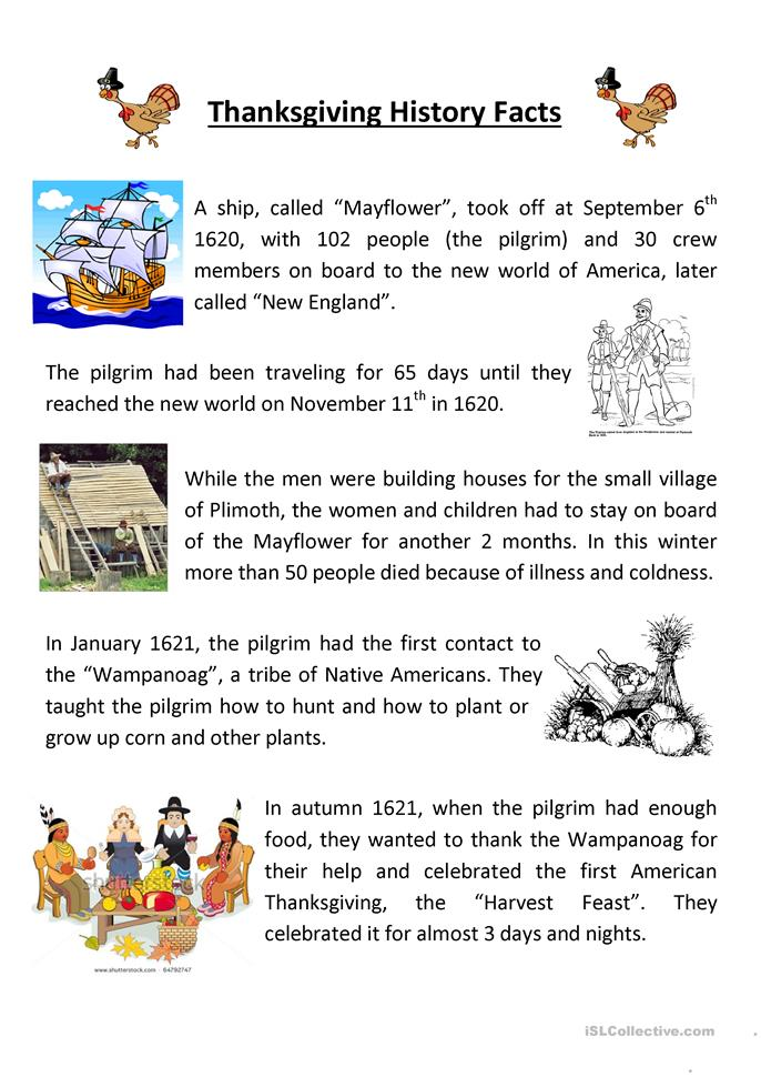 thanksgiving history essay Thanksgiving facts & worksheets have a clear understanding about the history of thanksgiving and its importance create stories, interview candidates & write persuasive essays.