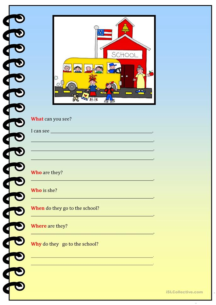 who what when where why worksheets what can you see worksheet free esl printable 772