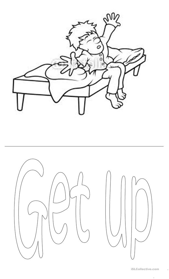 coloring pages daily activities images - photo#19