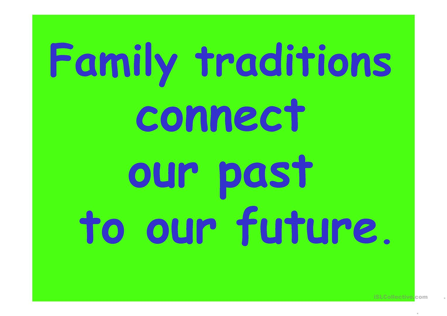esl coloring pages family traditions - photo#34