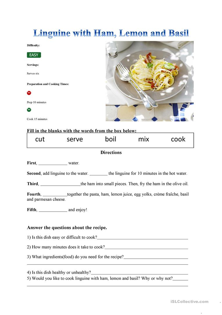 Worksheet reading a recipe worksheet grass fedjp worksheet study worksheet reading a recipe worksheet recipe worksheet free esl printable worksheets made by teachers full screen forumfinder Choice Image