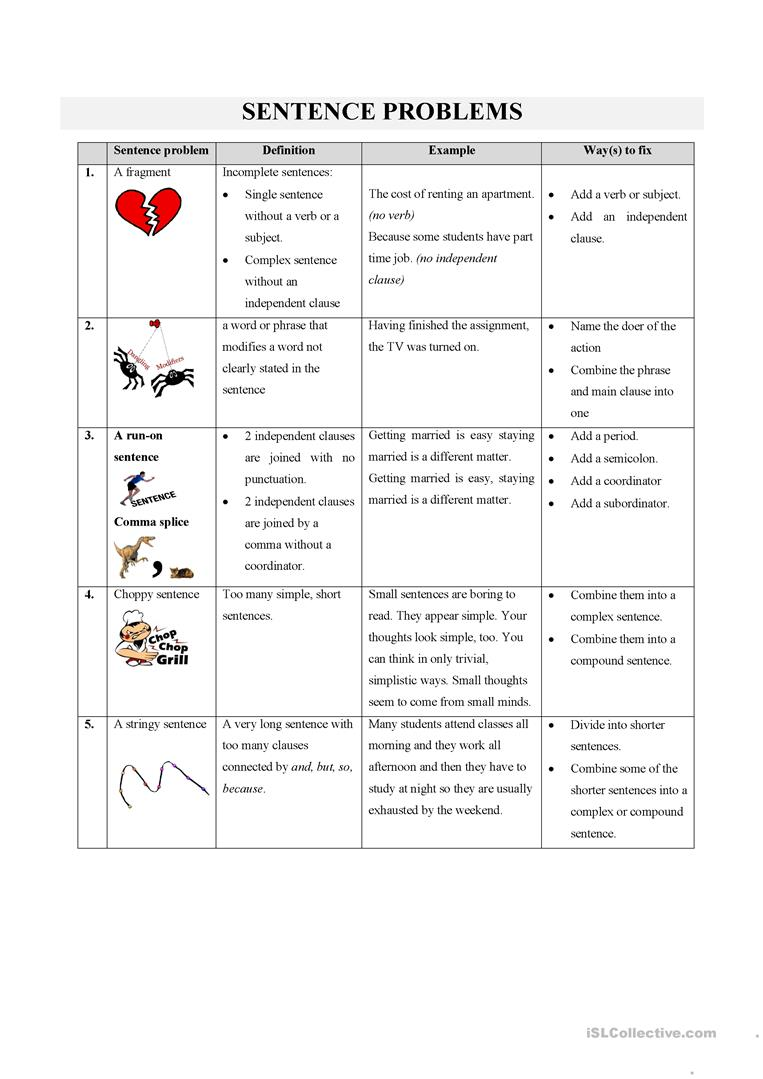 Workbooks punctuation comma worksheets : 11 FREE ESL Punctuation: Commas worksheets