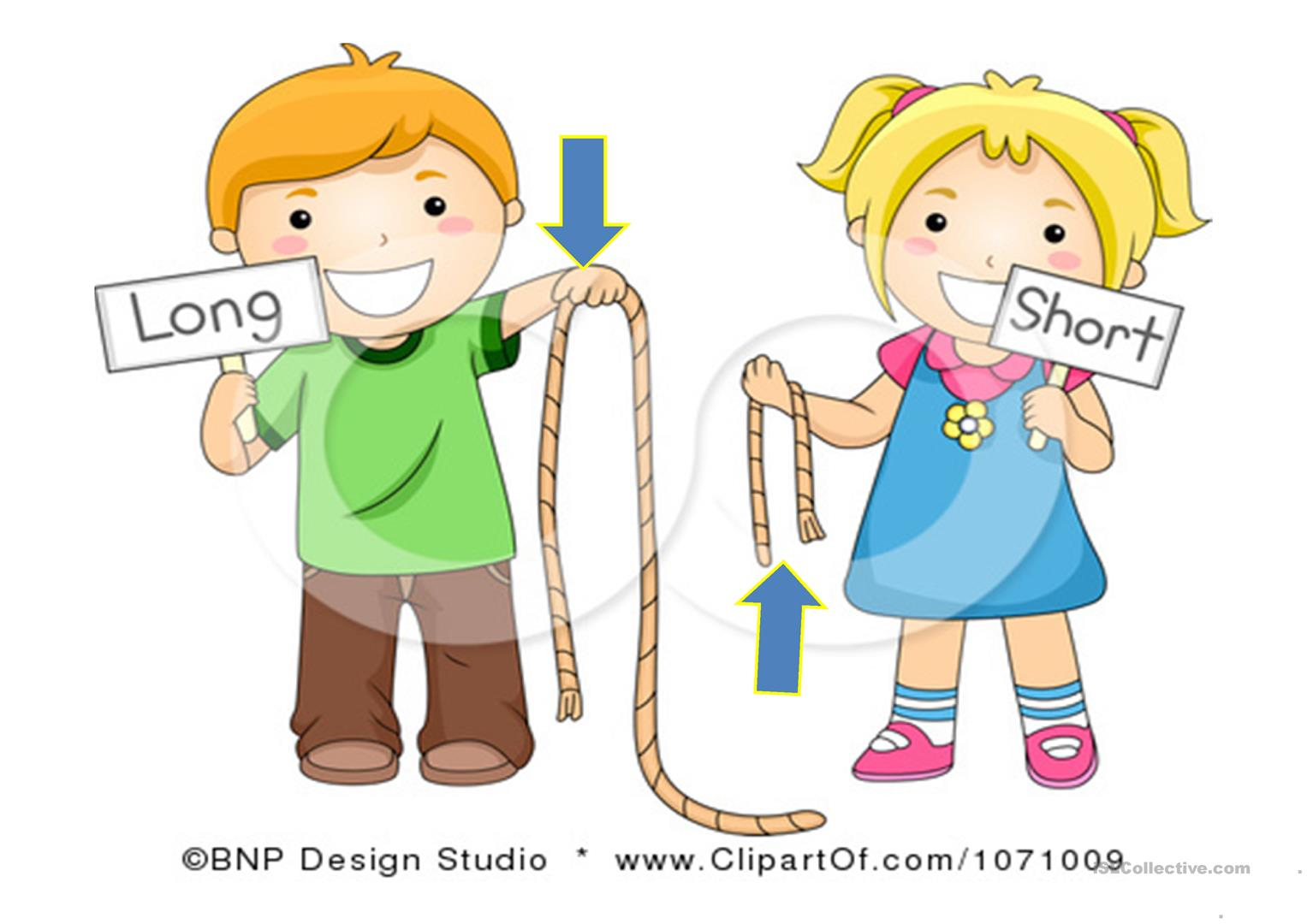 tall  short  strong  thin  long and short worksheet free free clipart for high school teachers school clipart for teachers black and white