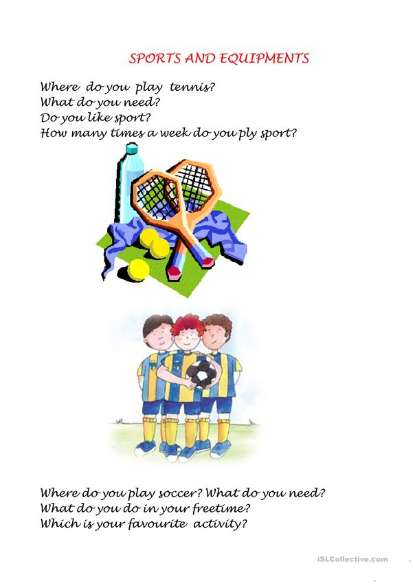 About sports
