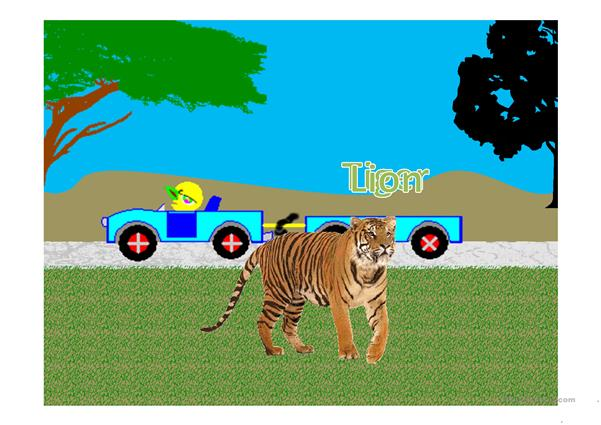 Animal Safari animated