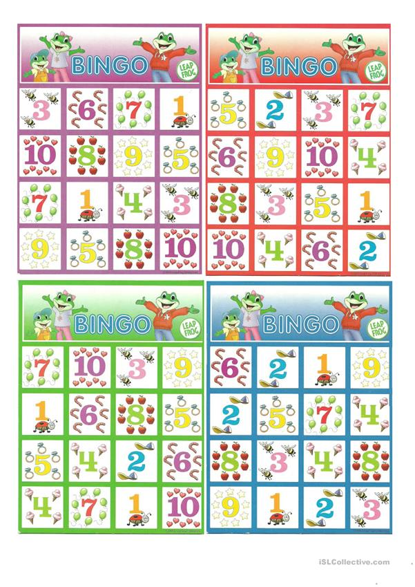 bingo with numbers