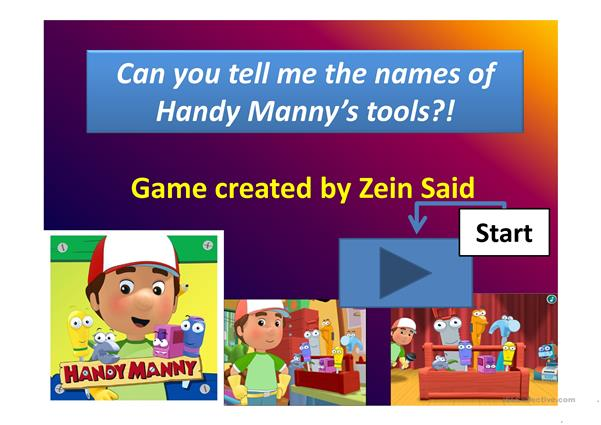 Handy Many tools game
