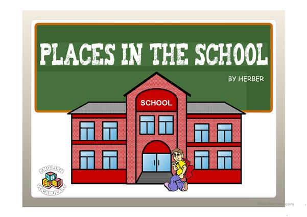 PLACES IN THE SCHOOL PPT