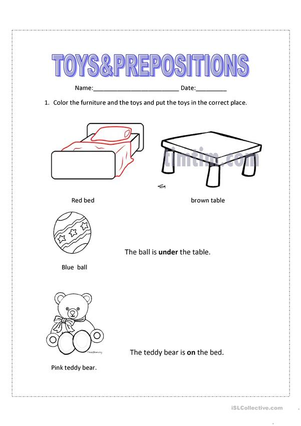 Test Toys&Prepositions