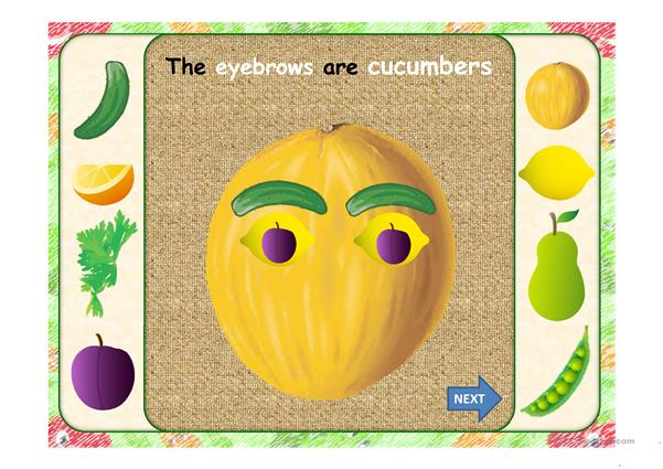 THE GREENGROCER'S HEAD PPT