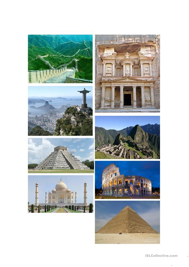 The new7 wonders of the world