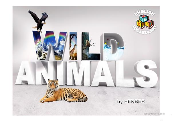 WILD ANIMALS PPT
