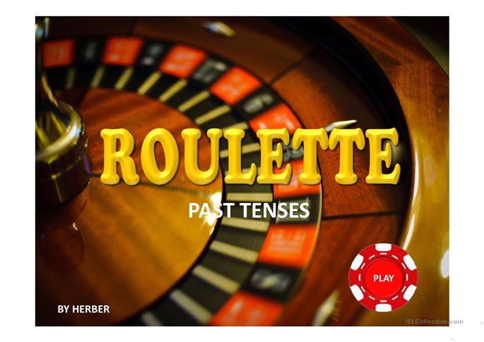 ROULETTE PPT - ESL worksheets