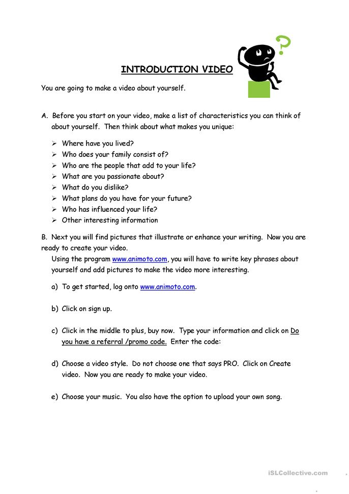 who am i video worksheet free esl printable worksheets made by teachers. Black Bedroom Furniture Sets. Home Design Ideas