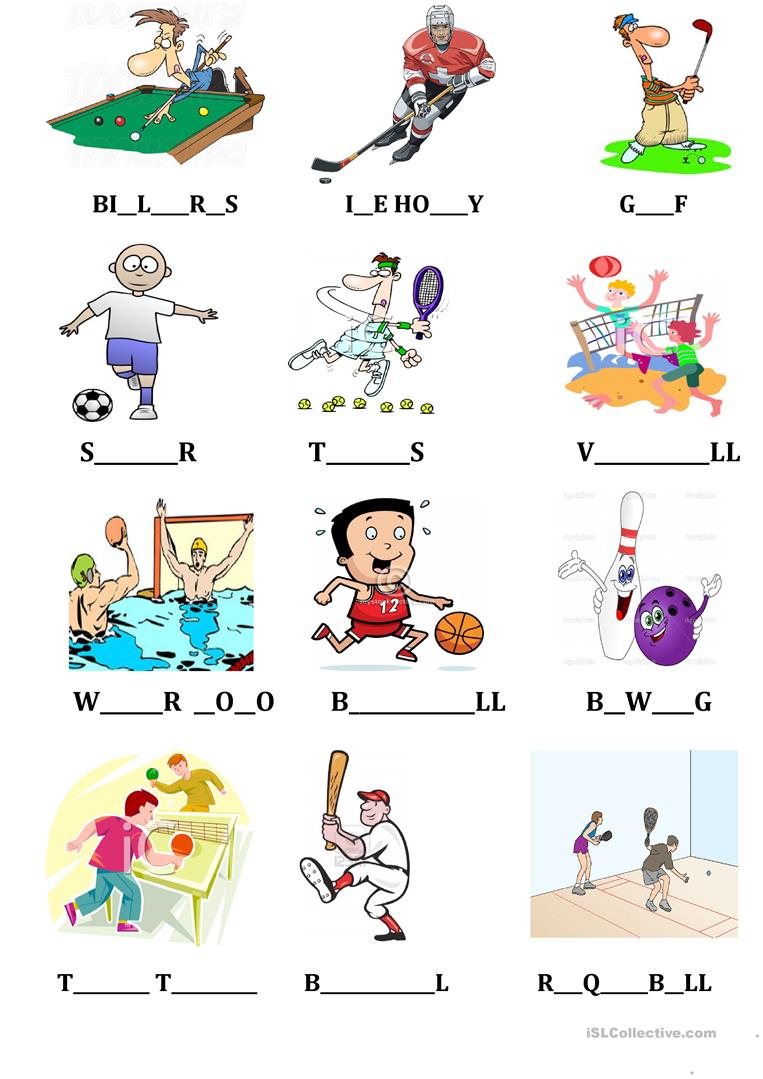 Sports Camping Flashcard Spelling Dictionary