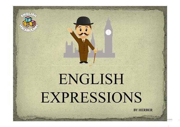 ENGLISH EXPRESSIONS PPT