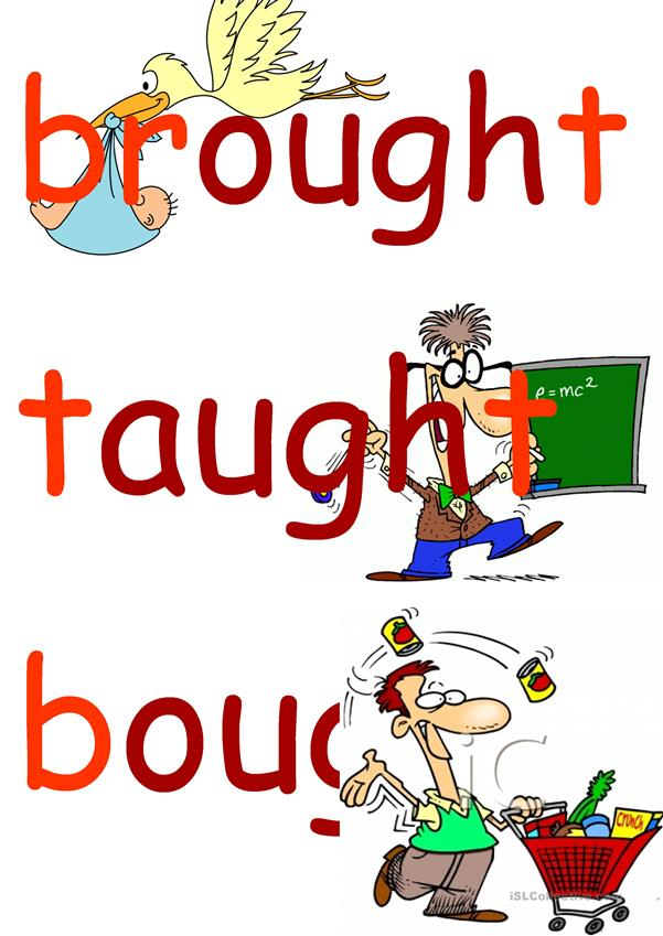 irregular verbs FLASHCARDS 2 group