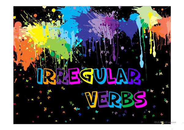 Irregular Verbs PPT`