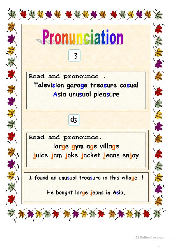 pronunciation of 2 sounds