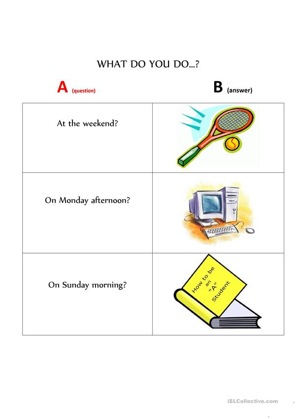Question & Answer Cards