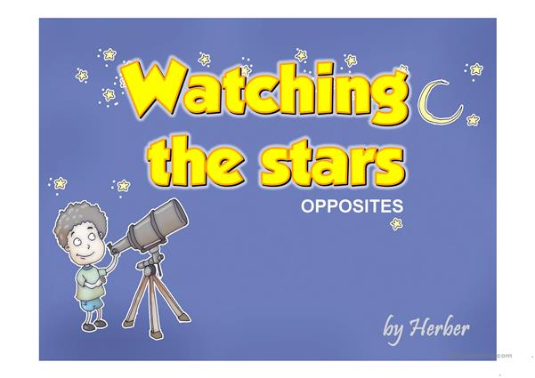 WATCHING THE STARS PPT