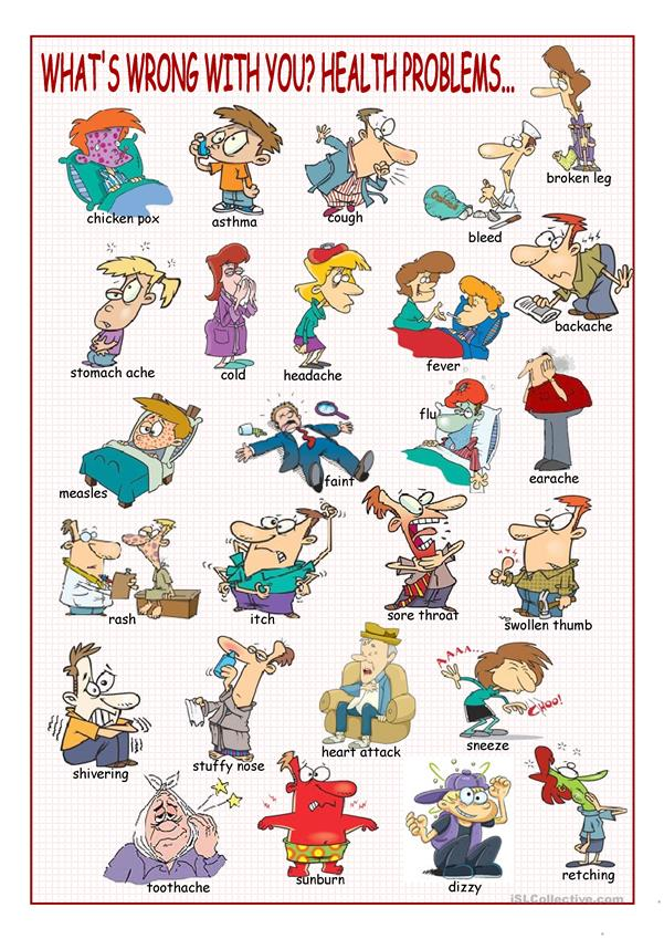 What's Wrong with You? (Health Problems Picture Dictionary)