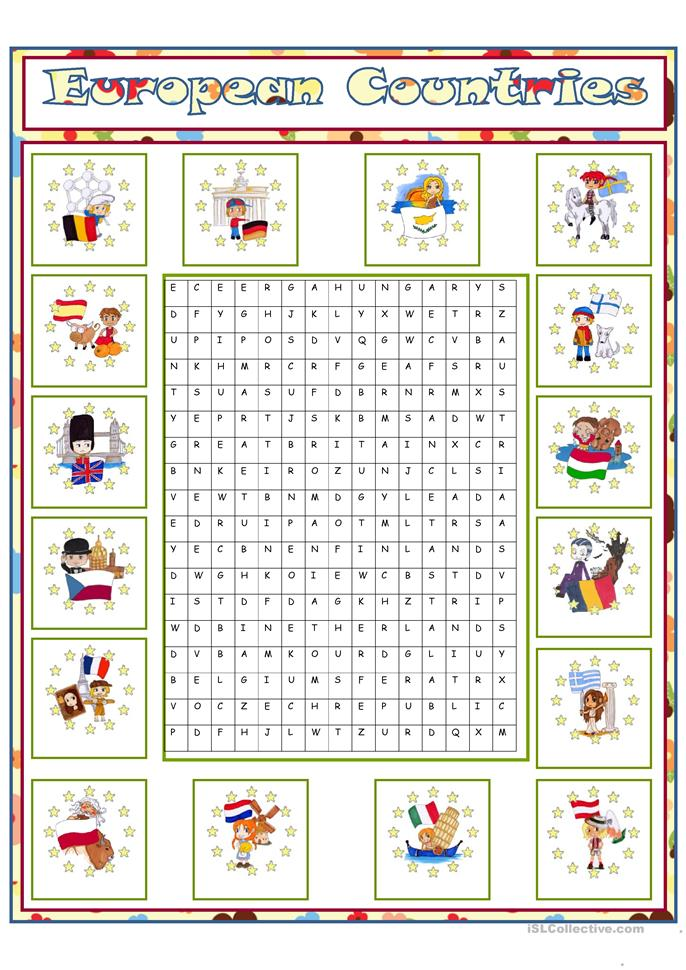european countries 1 worksheet free esl printable worksheets made by teachers. Black Bedroom Furniture Sets. Home Design Ideas