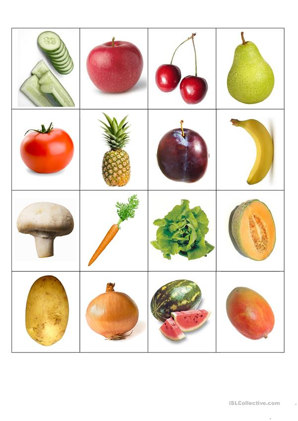 This is a graphic of Astounding Printable Fruit and Vegetables