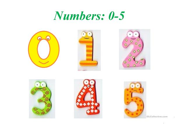 numbers 0-10 - English ESL Powerpoints for distance learning and physical  classrooms