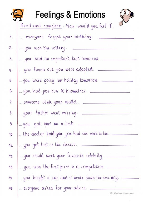 How I Feel Worksheets For Kids Photos Download JPG, PNG, GIF, RAW, TIFF,  PSD, PDF And Watch Online