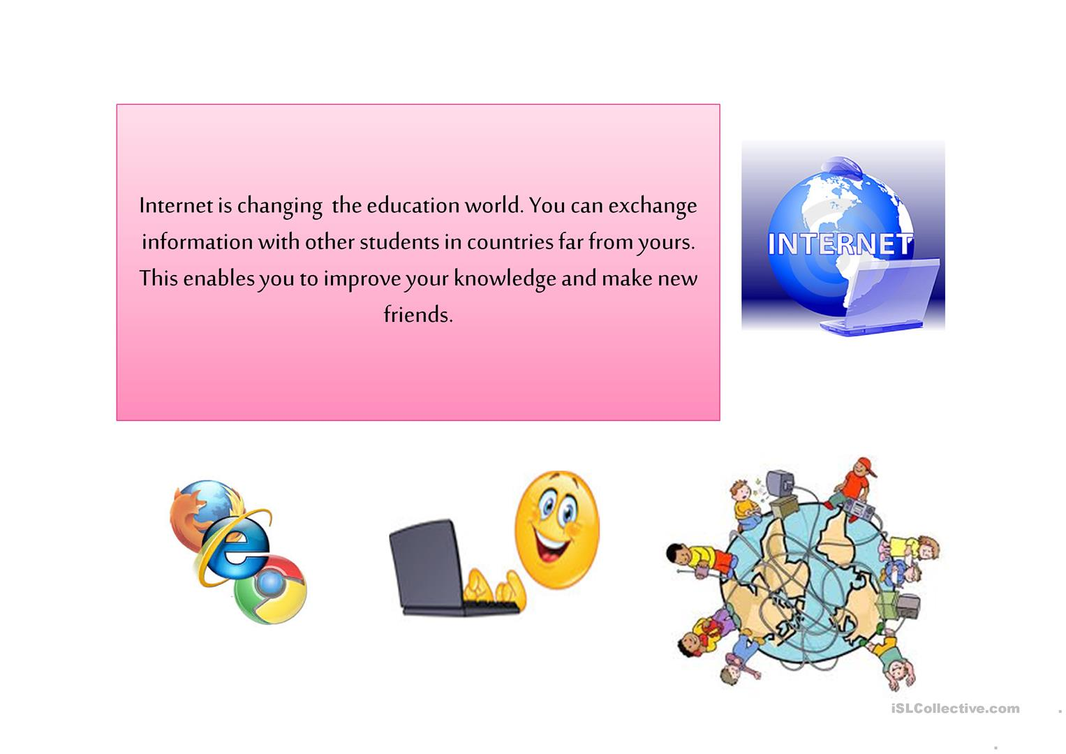 INTERNET - English ESL Powerpoints for distance learning ...